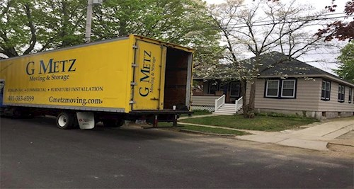 Household moving/G Metz Moving